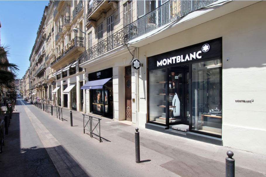 boutiques de luxe, rue grignan, Marseille.