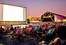 Cinéma en plein air à Marseille