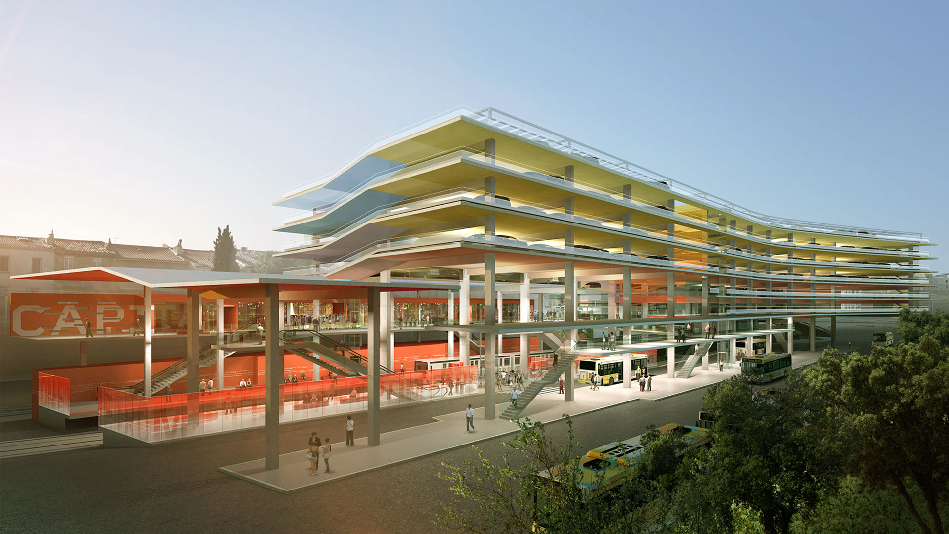 Projet Euromed Marseille