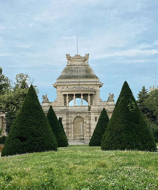 Palais-longchamps -Marseille-jardin